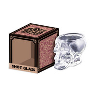 Skull Shot Glass - Clear