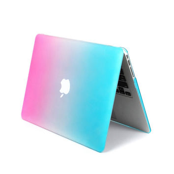 Colorful Rainbow For Macbook Air 11.6 Case Cover Matte Frosted For Macbook 11 Air Cover Case New 11inch Laptop Case Skin Shell