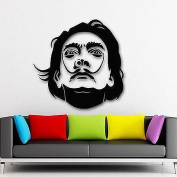 Wall Stickers Vinyl Decal Salvador Dali Celebrity Art Sculpture Painting ig1665