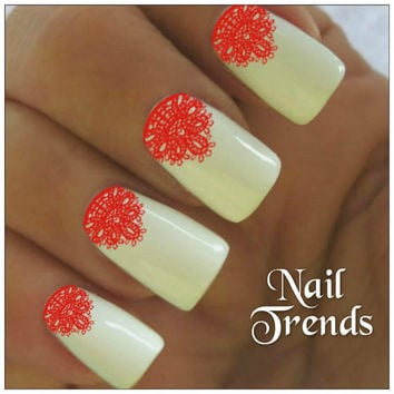 Nail Decals 22 Lace Vinyl Stickers Lacey Nail Art