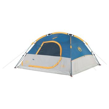 Coleman Instant 7x7 Foot Dome 3 Tent Grey-Blue