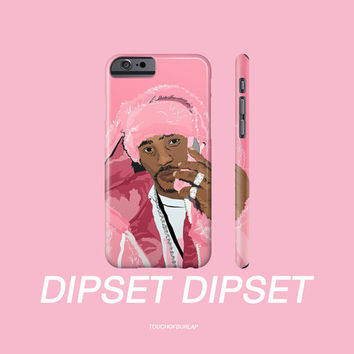 Camron Dipset Pink Fur On Phone Killa Cam Apple IPhone 4 5 5c 6 6s Plus Galaxy Case