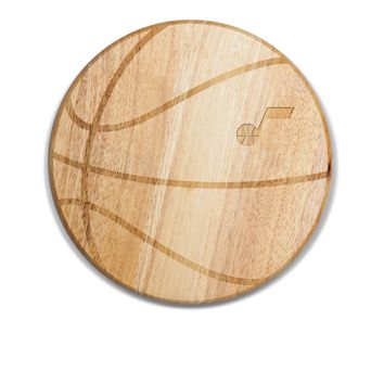 Utah Jazz - 'Free Throw' Basketball Cutting Board & Serving Tray by Picnic Time