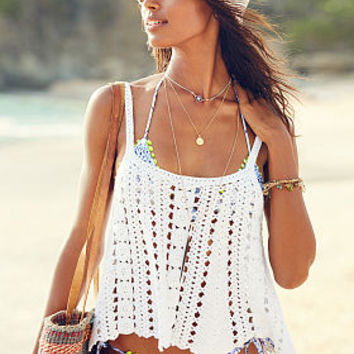 Crochet Swing Tank - Victoria's Secret