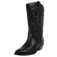 Soda Women Reno Boots,Black,8