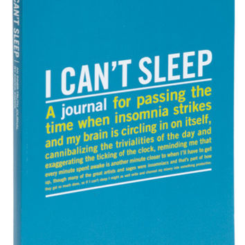 Travel I Can't Sleep Journal by ModCloth