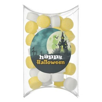 Spooky Haunted House Costume Night Sky Halloween Gum