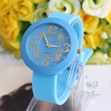 Women Man Watch Fit for everyone.Many colors choose.HOT SALES = 4487135300