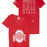 The Ohio State University Mascot V-neck Tee - PINK - Victoria's Secret