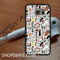 Kawaii Ghibli Doodle For galaxy S6, Iphone 4/4s, iPhone 5/5s, iPhone 5C, iphone 6/6 plus, ipad,ipod,galaxy case