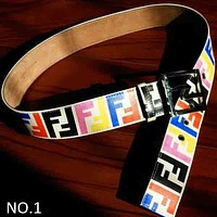 FENDI Women's Fashion Pin Buckle High Quality Belt Belt F NO.1