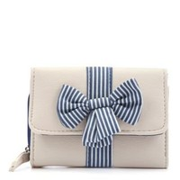 New Look Mobile | Teens Blue and White Stripe Purse