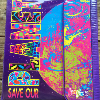 Lisa Frank vintage trapper keeper binder
