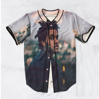 The Weeknd Pic Baseball Jersey