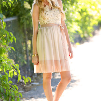 A'reve: Whisk Me Away Party Dress