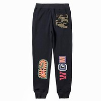 Bape Edgy Simple Pants Trousers Sweatpants