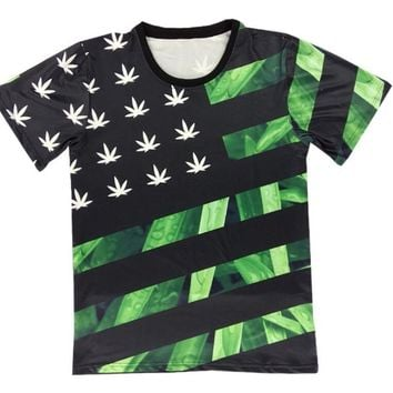 CannaMerica T-Shirt- Under Weed We Stand - CannaTee