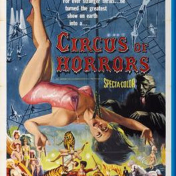 Circus Of Horrors Movie Poster 24inx36in