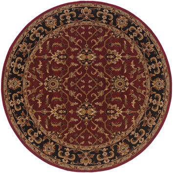 Oriental Weavers Knightsbridge 282R5 Red/Black Oriental Area Rug