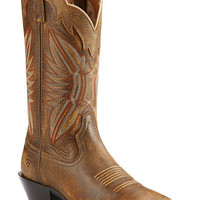 Ariat Round Up Outfitter Vintage Cowgirl Boots - Square Toe