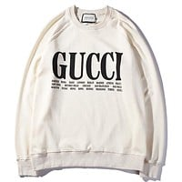 Gucci Women or Men Fashion Casual  Top Sweater
