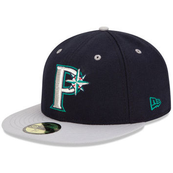 Pulaski Mariners Authentic Home Fitted Cap - MLB.com Shop
