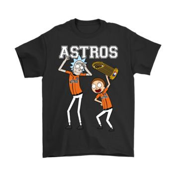 AUGUAU Rick And Morty Houston Astros World Series Shirts