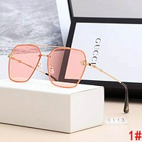 GUCCI Women Classic Bee Shades Eyeglasses Glasses Sunglasses 1#