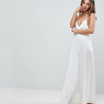ASOS Bridal Nightwear Jumpsuit at asos.com