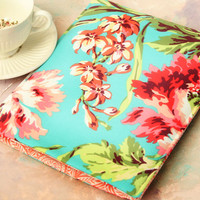 "15"" MacBook Case, 15"" MacBook Sleeve, Laptop Sleeve, Floral Bright Macbook Caase, Made to FIT ANY BRAND Laptop Case - in  Hawaiian Flowers"