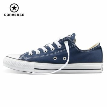 Original Converse all star canvas shoes men's and women's sneakers for men women low c