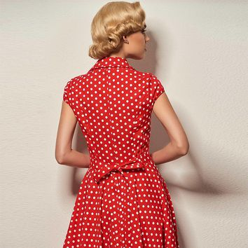 Women's Party Retro Cotton Dress