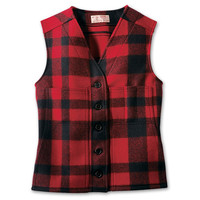 Women's Mackinaw Wool Vest