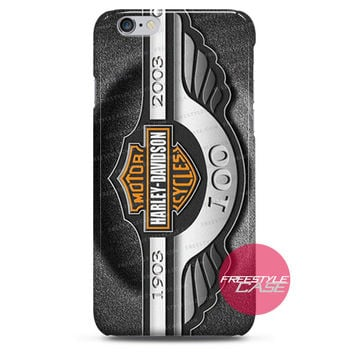 Harley Davidson Logo Exclusive  iPhone Case 3, 4, 5, 6 Cover