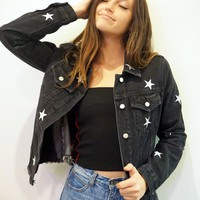 """Seeing Stars"" Denim Jacket"