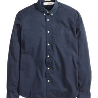 Poplin Shirt - from H&M
