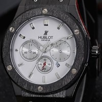 Hublot men and women trend watch F-PS-XSDZBSH Black case + white dial
