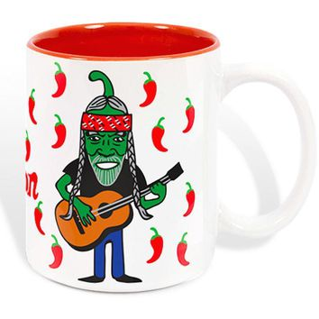 Chile Nelson Ceramic Coffee Mug