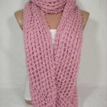 HURRY-Limited Quantity Offer Special Discount Just For 2 Pieces Only Hooded Cowl/Scarf/Neck Warmer/Loop Scarf (Pastel Pink) by Arzu's Style