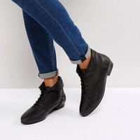 ASOS AUTUMN Leather Lace Up Boots at asos.com