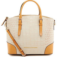 Dooney & Bourke Croco Collection Domed Satchel | Dillards.com