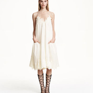 H&M Wide-cut Cotton Dress $99