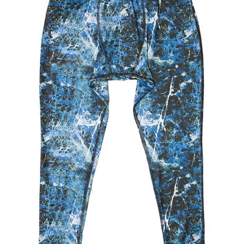 Ultralight Blue Marble Performance Tights