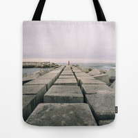 The seawall Tote Bag by Architect´s Eye | Society6