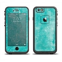 The Scratched Turquoise Surface Apple iPhone 6 LifeProof Fre Case Skin Set