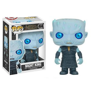 FUNKO POP Game of Thrones  NIGHT KING Toy Figures Collectible Model Toys
