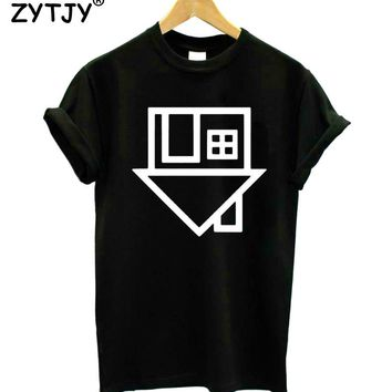 The Neighbourhood Print Women T shirt Funny Cotton Casual Shirt For Lady White Black Gray Top Tee Hipster Drop Ship ZT2-281