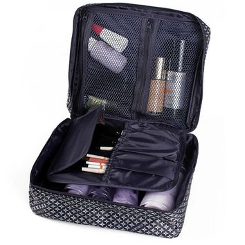Waterproof Travel Cosmetic Bag Makeup Case Wash Organizer