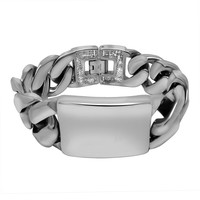 Great Deal Gift Awesome New Arrival Hot Sale Shiny Titanium Stylish Luxury Bracelet [6542743747]