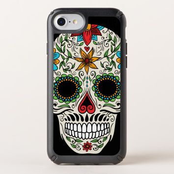 Day of the Dead Sugar Skull Speck iPhone 7 Case